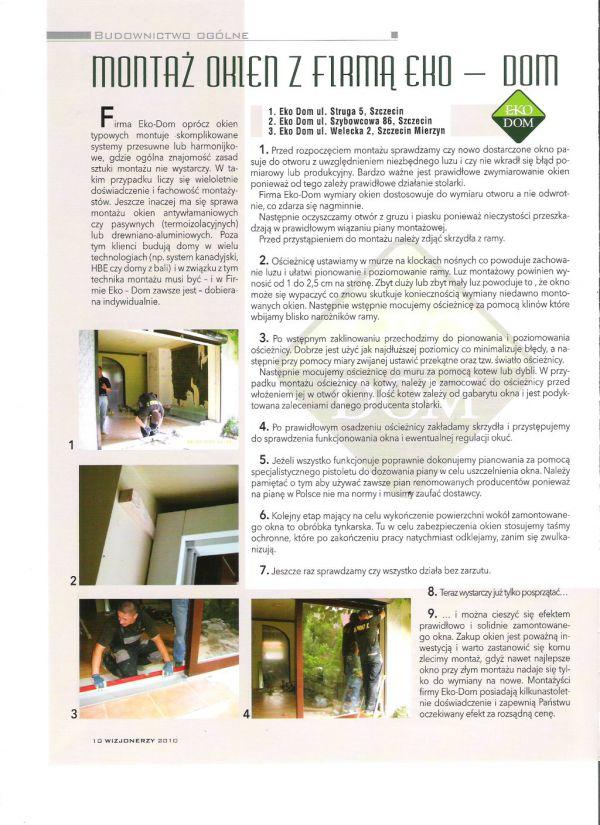 artykuł okna